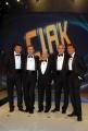 8/1/09 registrazione della prima puntata di CIAK SI CANTA, nella foto la giuria composta da Frizzi, Cucuzza, Sposini, Giletti, Malgioglio