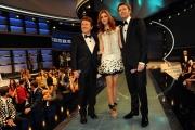 Roma 12/03/2010 Prima puntata di CIAK SI CANTA, condotto da Pupo e Emanuele Filiberto, giurìa Miriam Leoni
