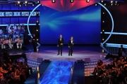Roma 12/03/2010 Prima puntata di CIAK SI CANTA, condotto da Pupo e Emanuele Filiberto,