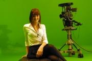 22/11/07 la nuova presentatrice dei programmi di raiuno Claudia Andreatti miss Italia 2006