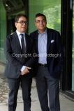 30/05/2014 Roma presentazione del programma di rai tre Colpo di scena , otto puntate condotte da Pino Strabioli con Andrea Vianello direttore della rete
