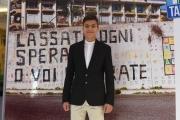 Foto/IPP/Gioia Botteghi 22/12/2017 Roma, presentazione del film come un gatto in tangenziale, nella foto : Simone De Bianchi Italy Photo Press - World Copyright
