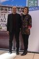 Foto/IPP/Gioia Botteghi 22/12/2017 Roma, presentazione del film come un gatto in tangenziale, nella foto : il regista Riccardo Milani e la moglie Paola Cortellesi Italy Photo Press - World Copyright