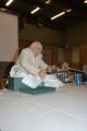 Gioia Botteghi/OMEGA 14/09/05 80 anni di ANDREA CAMILLERI, con lui nelle foto Il regalo dello RAI