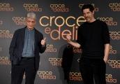 Foto/IPP/Gioia Botteghi Roma22/02/2019 Presentazione del film Croce e delizia,  nella foto con  ALESSANDRO GASSMANN, FABRIZIO BENTIVOGLIO Italy Photo Press - World Copyright