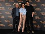 Foto/IPP/Gioia Botteghi Roma22/02/2019 Presentazione del film Croce e delizia,  nella foto  con ALESSANDRO GASSMANN, JASMINE TRINCA, FABRIZIO BENTIVOGLIO Italy Photo Press - World Copyright