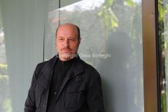 Roma, 18 aprile 2012. presentazione del programma di rai educational Cult Book, nella foto lo scrittore Eraldo Affinati