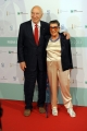 10/06/2014 Roma premio David di Donatello Giuliano Montaldo con la moglie