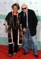 10/06/2014 Roma premio David di Donatello Francesco Rosi con la figlia