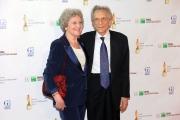 Roma14/06/2013 serata Premio David di Donatello, nella foto: Roberto Herlitzka con la moglie