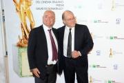 Roma14/06/2013 serata Premio David di Donatello, nella foto: Luca e Carlo Verdone