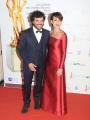 Roma14/06/2013 serata Premio David di Donatello, nella foto: Ambra Angiolini e Renga