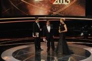 Roma14/06/2013 serata Premio David di Donatello, nella foto: Lillo e Greg Elisa Silvestrin