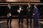 Roma14/06/2013 serata Premio David di Donatello, nella foto: Lillo e Greg Mastandrea Ricci
