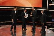 Roma14/06/2013 serata Premio David di Donatello, nella foto: Lillo e Greg Leonardo Di Costanzo e Rocco Papaleo