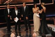 Roma14/06/2013 serata Premio David di Donatello, nella foto: Lillo e Greg Mastandrea Sastre e Elisa Silvestrin