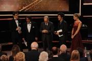 Roma14/06/2013 serata Premio David di Donatello, nella foto: Lillo e Greg Morricone Gazzè Silvestrin