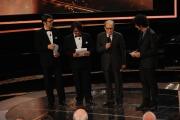 Roma14/06/2013 serata Premio David di Donatello, nella foto: Lillo e Greg Morricone Gazzè