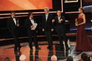 Roma14/06/2013 serata Premio David di Donatello, nella foto: Nicola Piovani Roberto Benigni