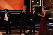 Roma14/06/2013 serata Premio David di Donatello, nella foto: Nicola Piovani Roberto Benigni Sivestrin