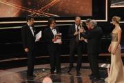 Roma14/06/2013 serata Premio David di Donatello, nella foto: Lillo e Greg Tornatore Taviani Silvestrin