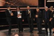 Roma14/06/2013 serata Premio David di Donatello, nella foto: Lillo e Greg Tornatore Taviani