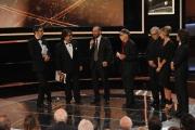 Roma14/06/2013 serata Premio David di Donatello, nella foto: Lillo e Greg Tornatore Taviani e i produttori del film Viva la libertà