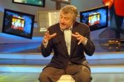Omega/Gioia Botteghi 14/04/07 Robert de Niro a Roma per presentare il suo film THE GOOD SHEPHERD ospite a Domenica in con Pippo Baudo
