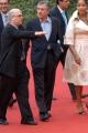 Gioia Botteghi/OMEGA 21/10/06De Niro alla festa del cinema di Roma con la moglie
