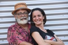 27/07/2016 Roma Posato Andrea Delogu e Marco Giusti