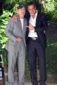 15/10/07 presentazione del film DIE HART con Bruce Willis, nelle foto con Edoardo Costa