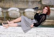 Foto/IPP/Gioia Botteghi Roma 30/09/2020 Photocall del film Divorzio a Las Vegas, nella foto : Andrea Delogu Italy Photo Press - World Copyright