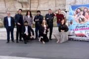 Foto/IPP/Gioia Botteghi Roma 30/09/2020 Photocall del film Divorzio a Las Vegas, nella foto : il regista Umberto Carteni con il cast Italy Photo Press - World Copyright