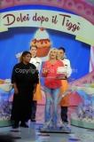 08/09/2014 Roma Prima puntata del nuovo programma di Antonella Clerici DOLCI DOPO IL TG con la pasticcera Ambra