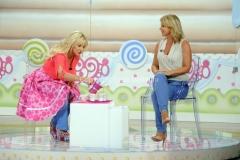 08/09/2014 Roma Prima puntata del nuovo programma di Antonella Clerici DOLCI DOPO IL TG ospite Monica Leofredi