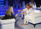 Foto/IPP/Gioia Botteghi 16/09/2018 Roma, prima puntata di Domenica in condotta da Mara Venier, nella foto con Romina Power scambio di occhiali  Italy Photo Press - World Copyright