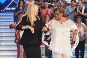 Foto/IPP/Gioia Botteghi 16/09/2018 Roma, prima puntata di Domenica in condotta da Mara Venier, nella foto con Romina Power il ballo del qua qua  Italy Photo Press - World Copyright