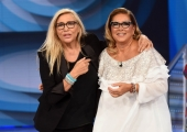 Foto/IPP/Gioia Botteghi 16/09/2018 Roma, prima puntata di Domenica in condotta da Mara Venier, nella foto con Romina Power   Italy Photo Press - World Copyright