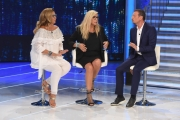 Foto/IPP/Gioia Botteghi 16/09/2018 Roma, prima puntata di Domenica in condotta da Mara Venier, nella foto con Romina Power e Amadeus  Italy Photo Press - World Copyright
