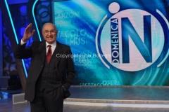 02/10/2016 Roma prima puntata di Domenica in , nella foto Pippo Baudo