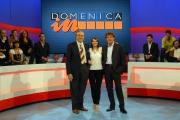 7/10/07 Prima puntata di DOMENICA IN, nelle foto: Pippo Baudo Lorena Bianchetti, Massimo Giletti