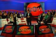 7/10/07 Prima puntata di DOMENICA IN, nelle foto: Massimo Giletti