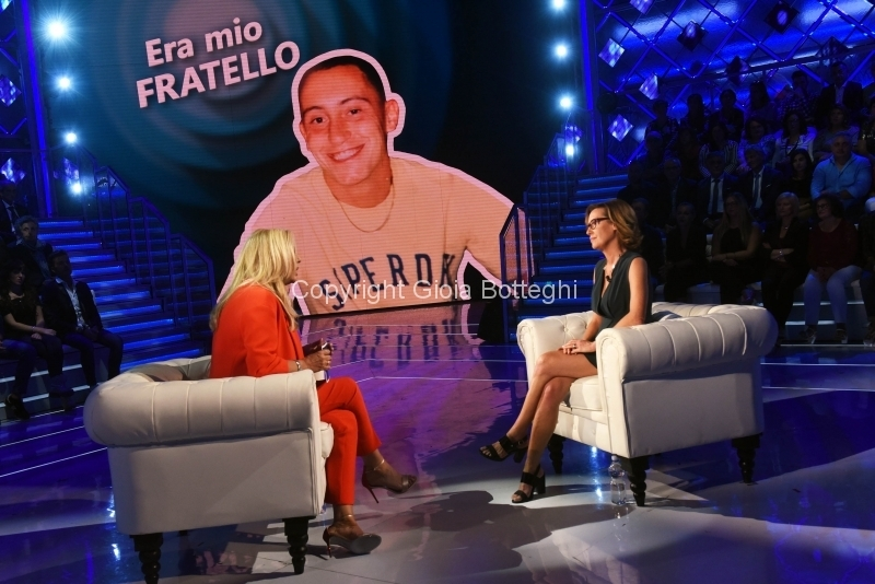 Foto/IPP/Gioia Botteghi 14/10/2018 Roma, Ilaria Cucchi ospite di Domenica in  Italy Photo Press - World Copyright
