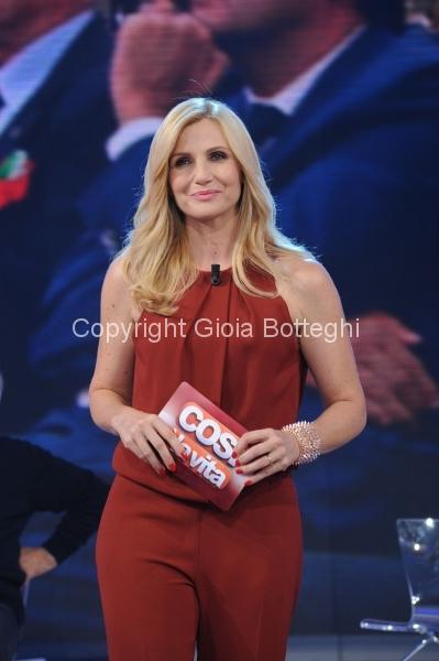 7/10/2012 Roma prima puntata di Domenica in, nella foto Lorella Cuccarini