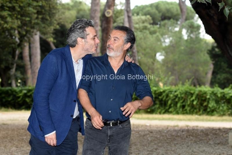 Foto/IPP/Gioia Botteghi 12/06/2018 Roma,Presentazione del film, due piccoli italiani, nella foro :  Paolo Sassanelli e Francesco Colella  Italy Photo Press - World Copyright