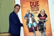 Foto/IPP/Gioia Botteghi 12/06/2018 Roma,Presentazione del film, due piccoli italiani, nella foro : Francesco Colella  Italy Photo Press - World Copyright