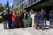 Foto/IPP/Gioia Botteghi Roma 16/05/2019 Photocall della fiction Duisburg, linea di sangue , nella foto: tutto il cast con polizia