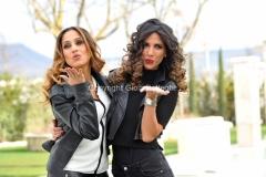 03/03/2016 Viterbo conduttrici di Easy Driver, Veronica Gatto e Roberta Morise rai uno