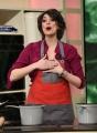 Foto/IPP/Gioia Botteghi Roma 12/03/2019 Elisa Isoardi con il nuovo look nello studio della prova del cuoco Italy Photo Press - World Copyright
