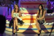 30/09/07 OMEGA/Gioia BotteghiPrima puntata di Buona Domenica , nelle foto Elisabetta Gregoraci con Paola Perego